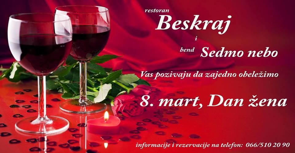 8. mart u restoranu Beskraj