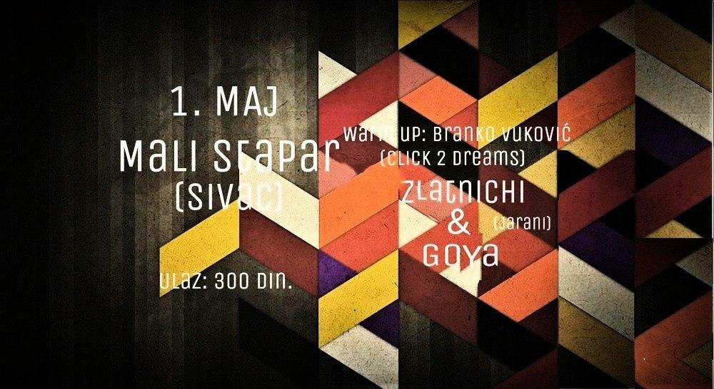Prvomajski Groove w/ Zlatnichi & Goya i Branko Vukovic