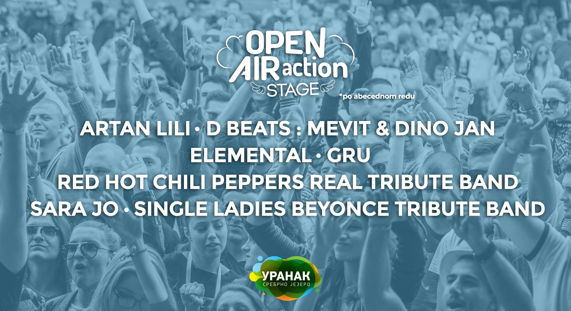 OPEN AIR ACTION STAGE 29.04 – 01.05.2018. Uranak festival