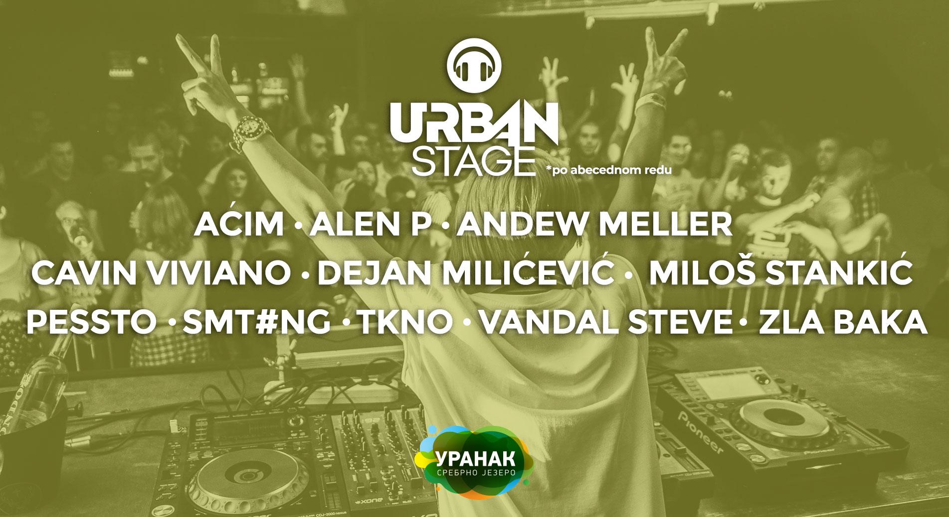 Urban Stage 29.04 – 01.05.2018. Uranak Festival