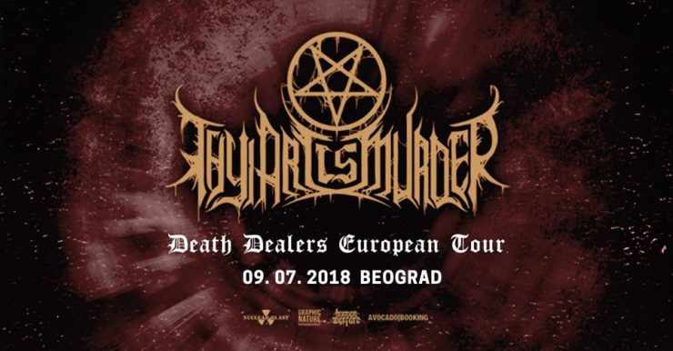 Image result for Thy Art is Murder 2018