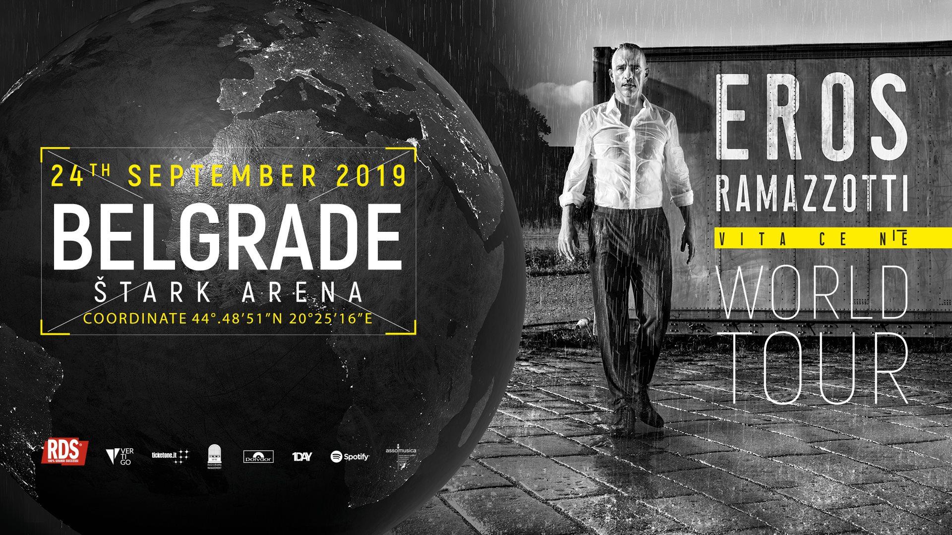 Eros Ramazzotti 24.09.2019 Štark Arena