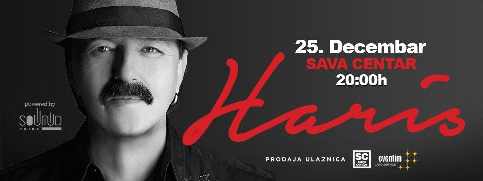 Haris Džinović 25.12.2018. Sava Centar