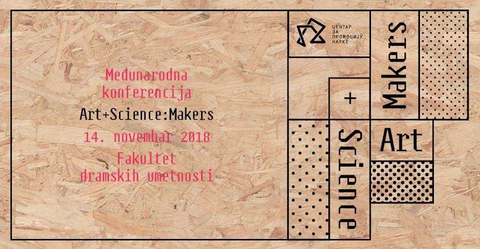 Konferencija art+science:makers 14.11.2018. FDU
