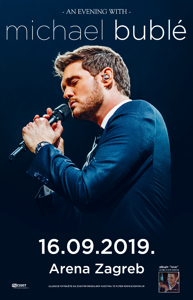 Michael Buble 16.09.2019. Arena