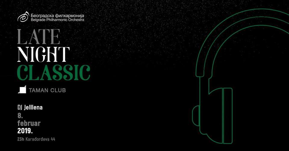 Late Night Classic filharmonijski afterparti 08.02.2019.taman club