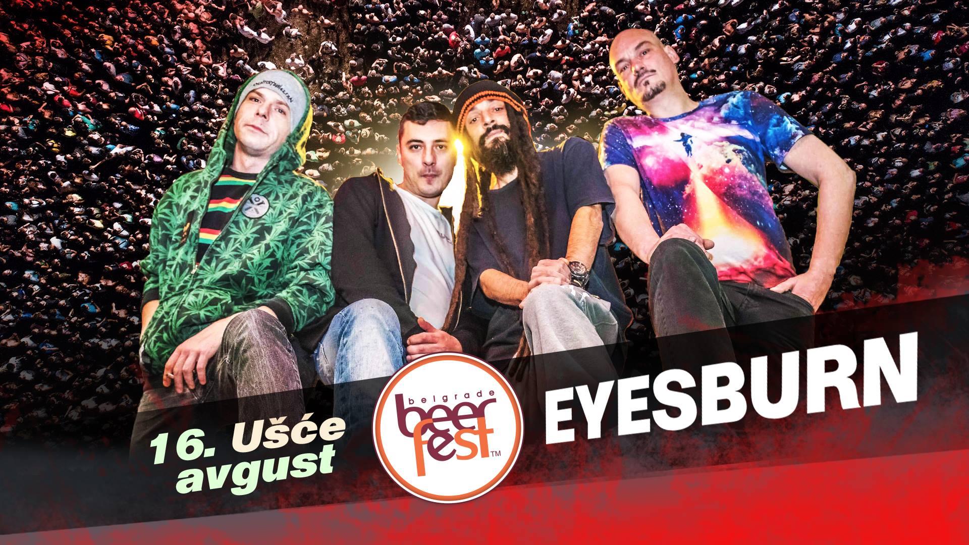 Eyesburn live 16.08.2019. Belgrade Beer Fest