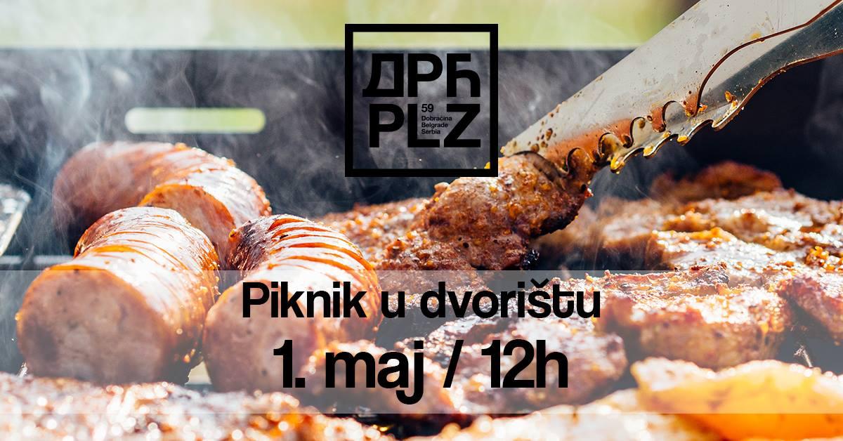 Piknik u dvorištu 01.05.2019. Dorcol Platz