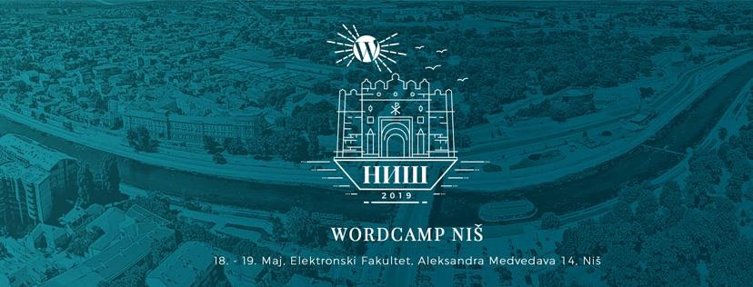 WordCamp Niš, 18-19. maj 2019, Niš