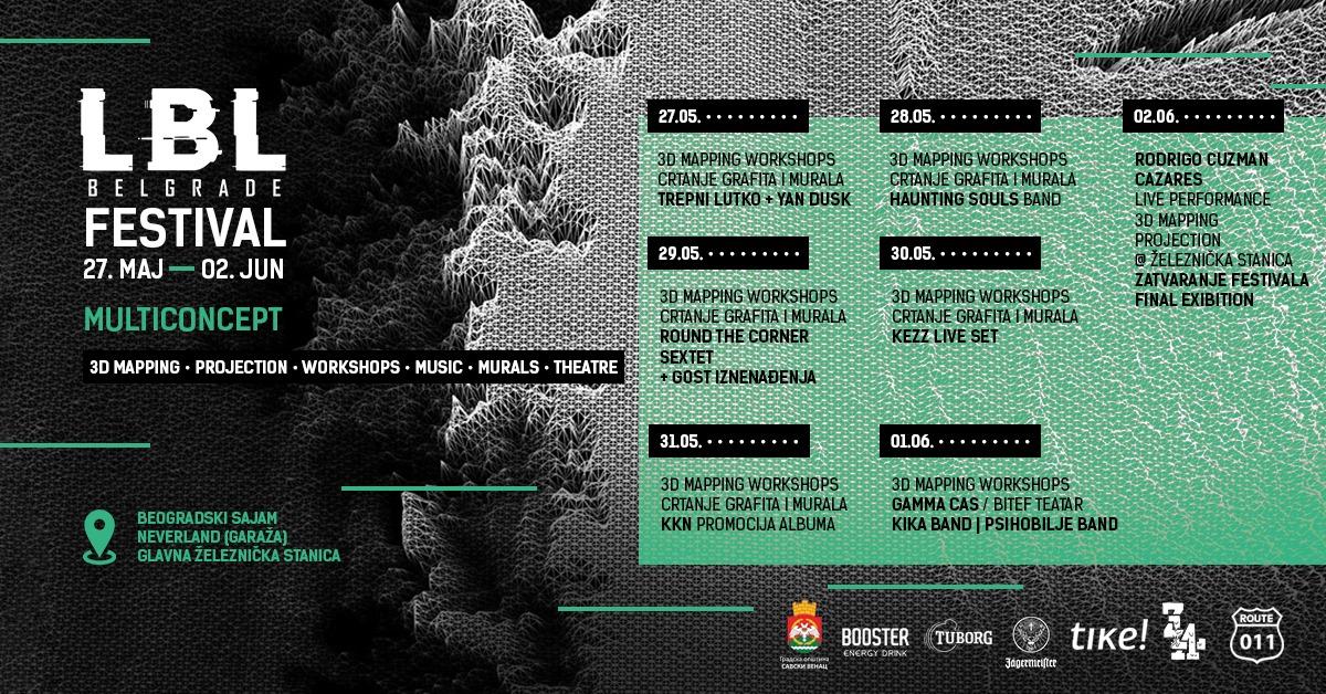 LBL Belgrade festival 27.05 – 02.06.2019. NeverLand Club