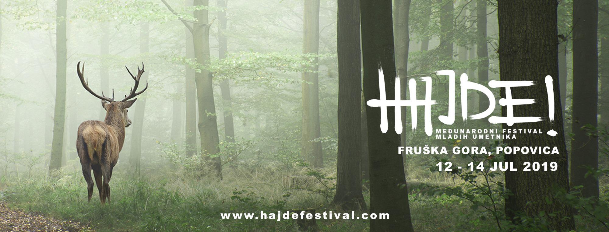 HAJDE FESTIVAL 12 – 14.07.2019. Izletiste Popovica