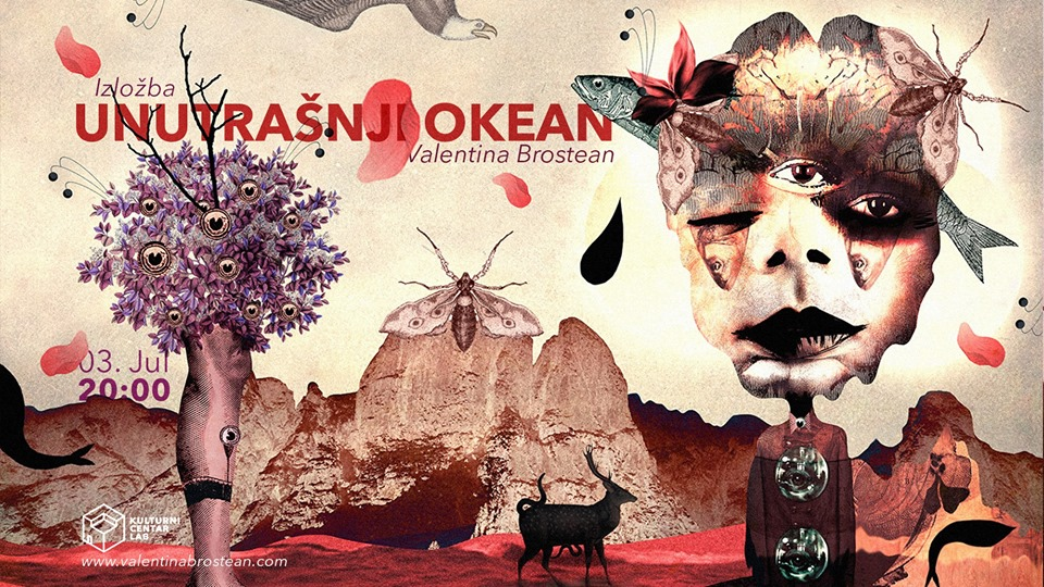 Unutrašnji Okean / Valentina Brostean 03 – 09.07.2019. KC Lab