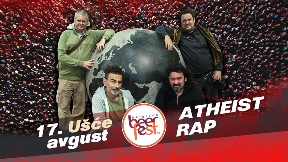 Atheist Rap live @Belgrade Beer Fest 17.08.2019.