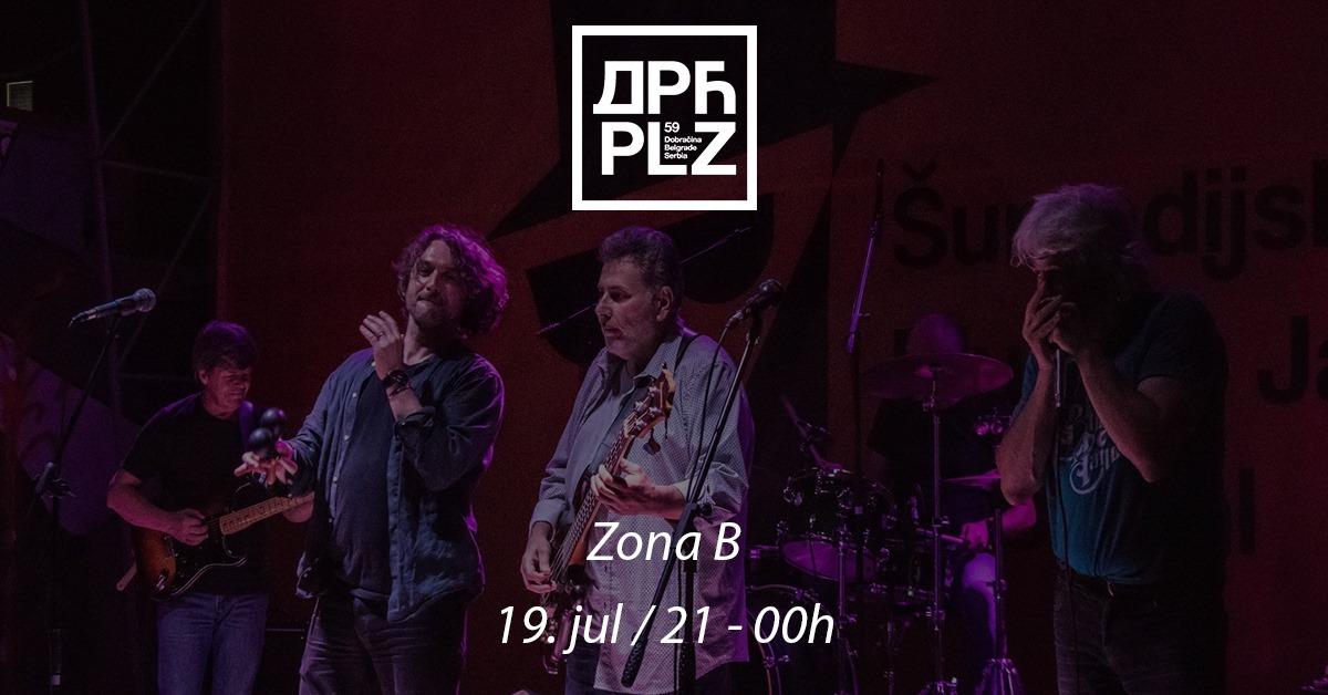 Zona B / Svirka u bašti 19.07.2019. Dorćol Platz