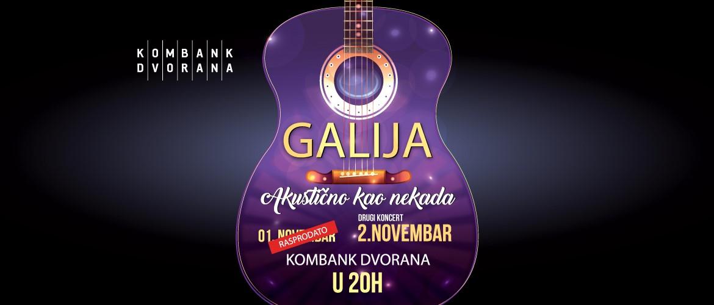 Galija 02.11.2019. Kombank Hall