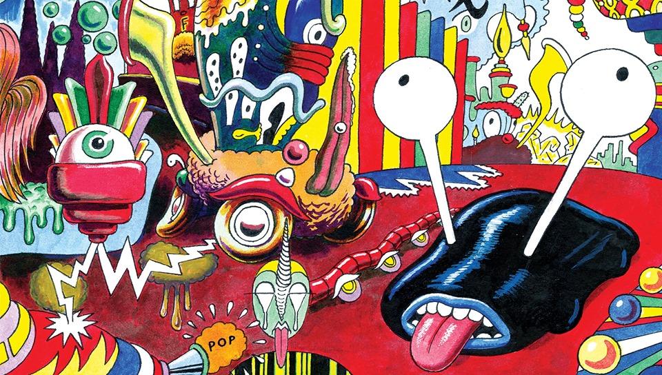 10. Novo Doba festival: John Andersson + radionica stripa 10.10.2019.Umetnicka Galerija Stara Kapetanija