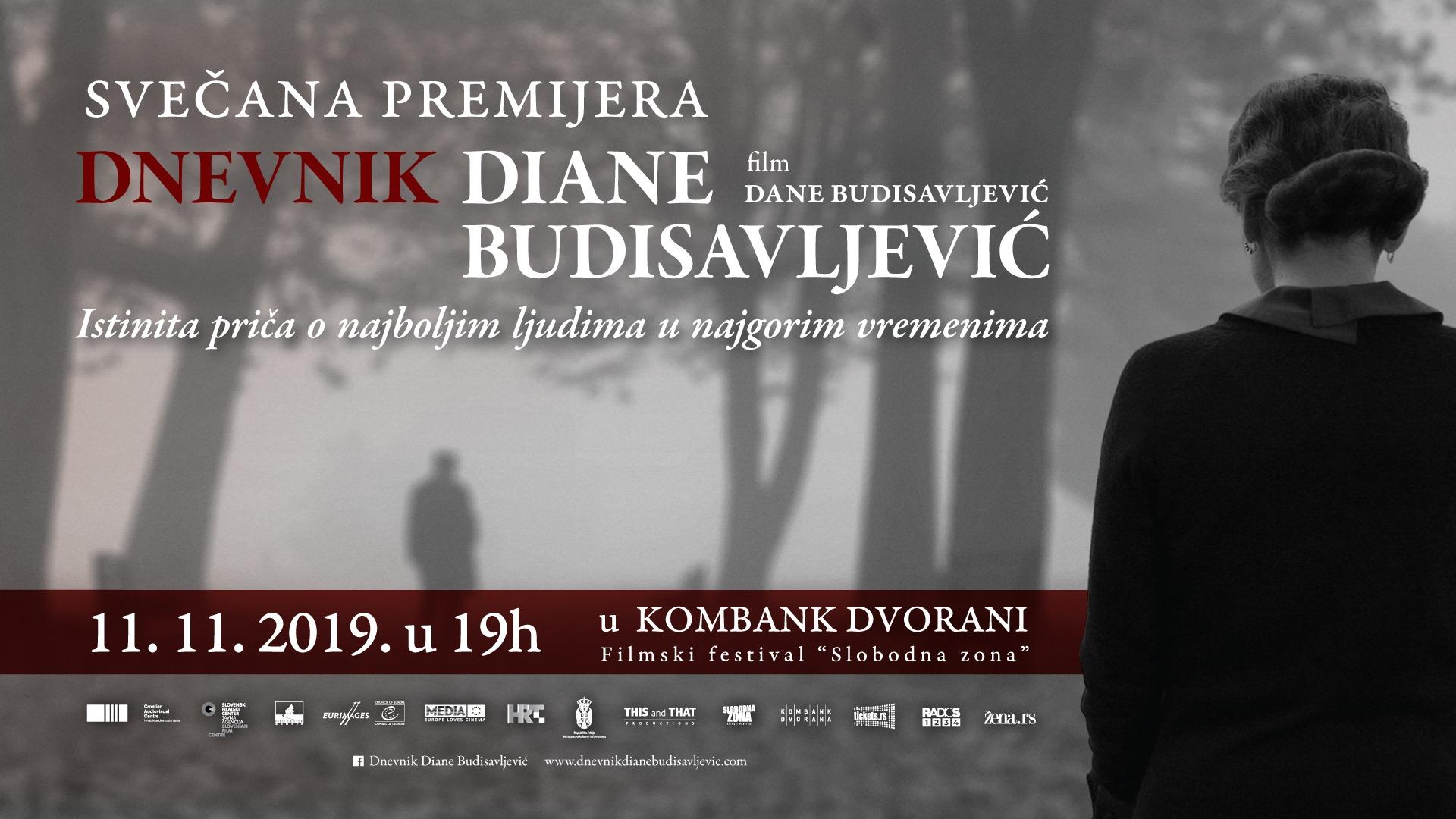 Dnevnik Diane Budisavljević – srpska premijera 11.11.2019. Kombank dvorana