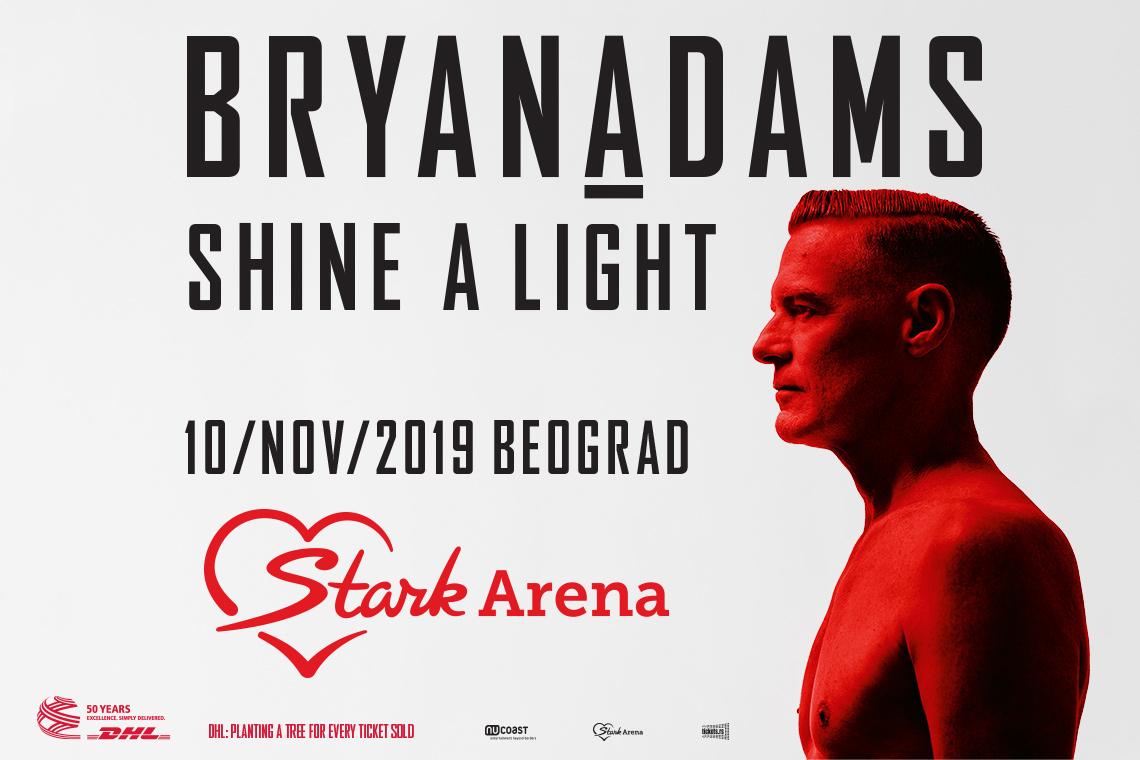 BRYAN ADAMS 10.11.2019. Štark arena