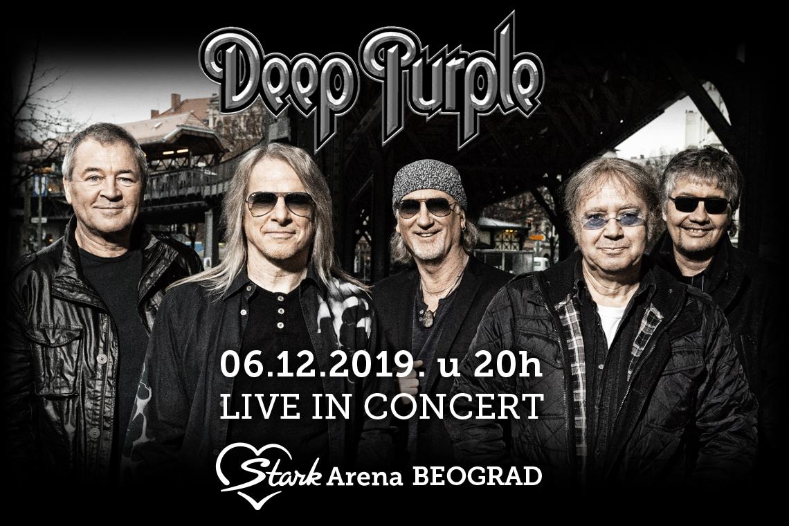DEEP PURPLE 06.12.2019. Štark arena