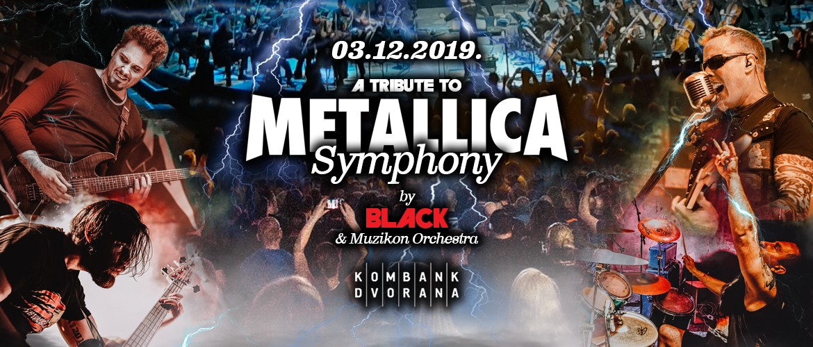 A TRIBUTE TO METALLICA SYMPHONY 12/03/2019 Kombank Hall