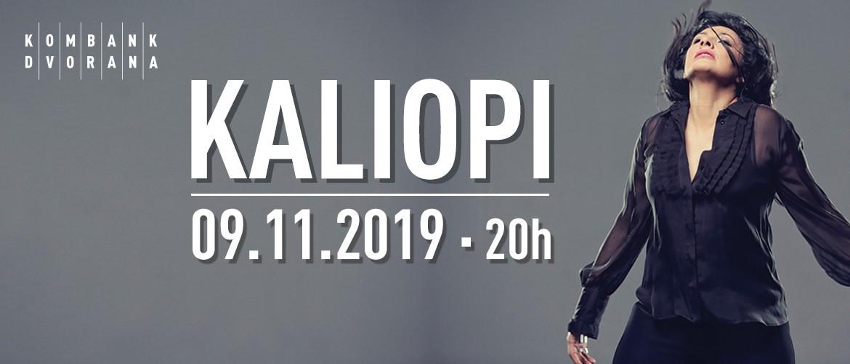 KALIOPI 09.11.2019. Kombank dvorana