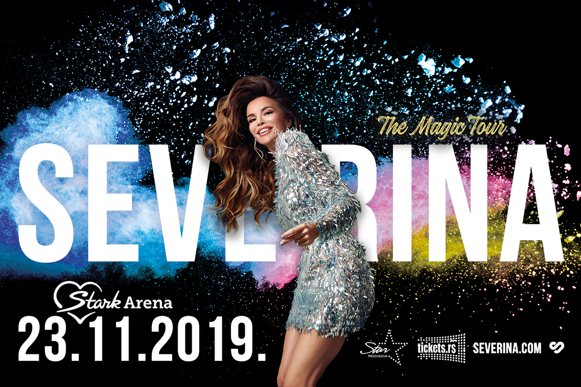 "SEVERINA – ,,THE MAGIC TOUR"" 23.11.2019. Štark arena"