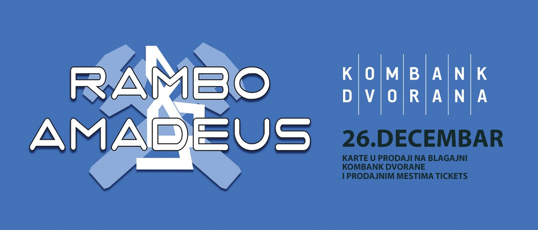 Rambo Amadeus 26.12.2019. Kombank dvorana