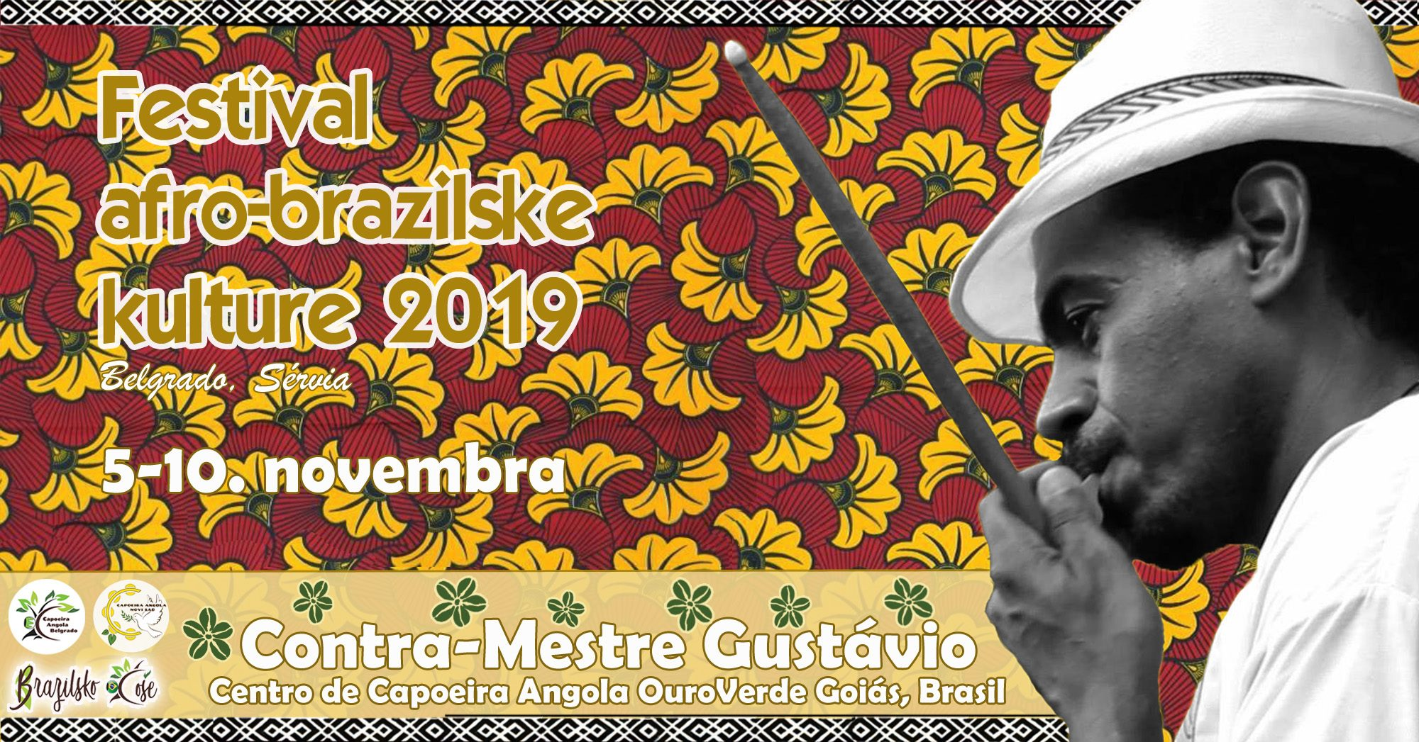 Festival afro-brazilske kulture 05 – 10.11.2019