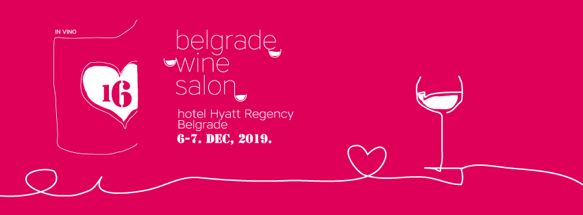 16. Beogradski Salon Vina 06 – 07.12.2019. hotel Hyatt Regency