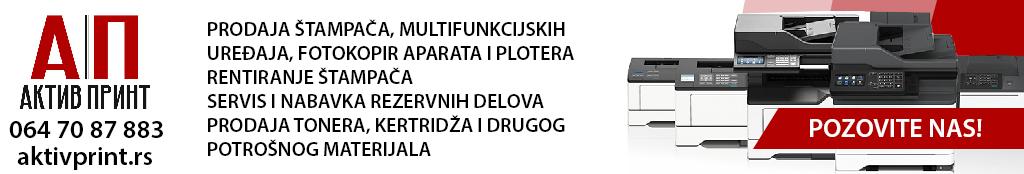Aktivprint servis štampača popravka štampača Beograd