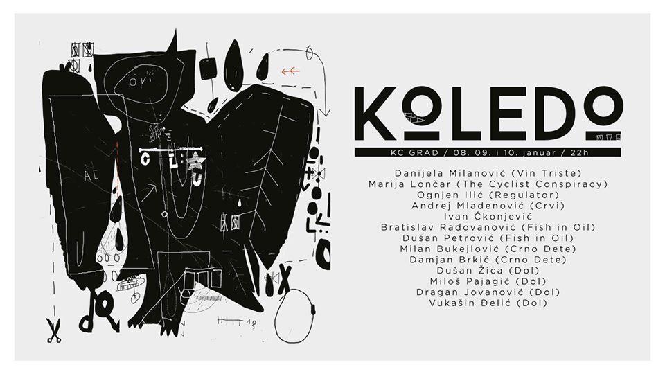 Koledo Festival 08 – 10.01.2020. KC Grad