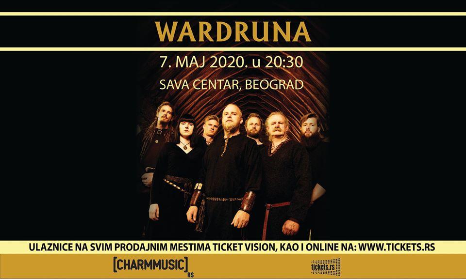 Wardruna 7.05.2020.Sava Centar