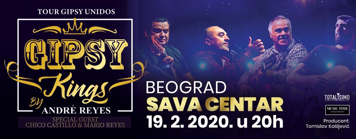 GIPSY KINGS 19.02.2020. Sava Centar
