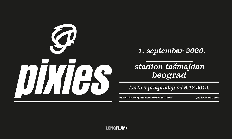 PIXIES 01.09.2020. Tašmajdan