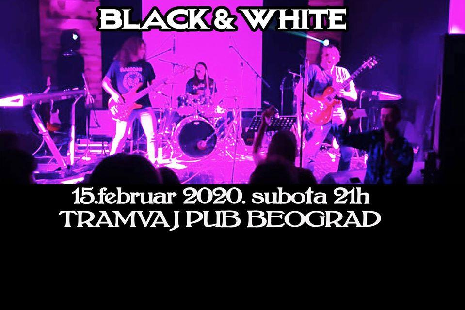 Black & White 15.02.2020. Tramvaju
