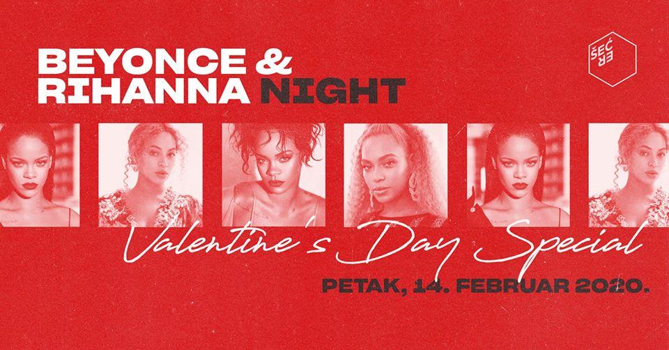 Beyonce & Rihanna Night 14.02.2020. Klub Šećer