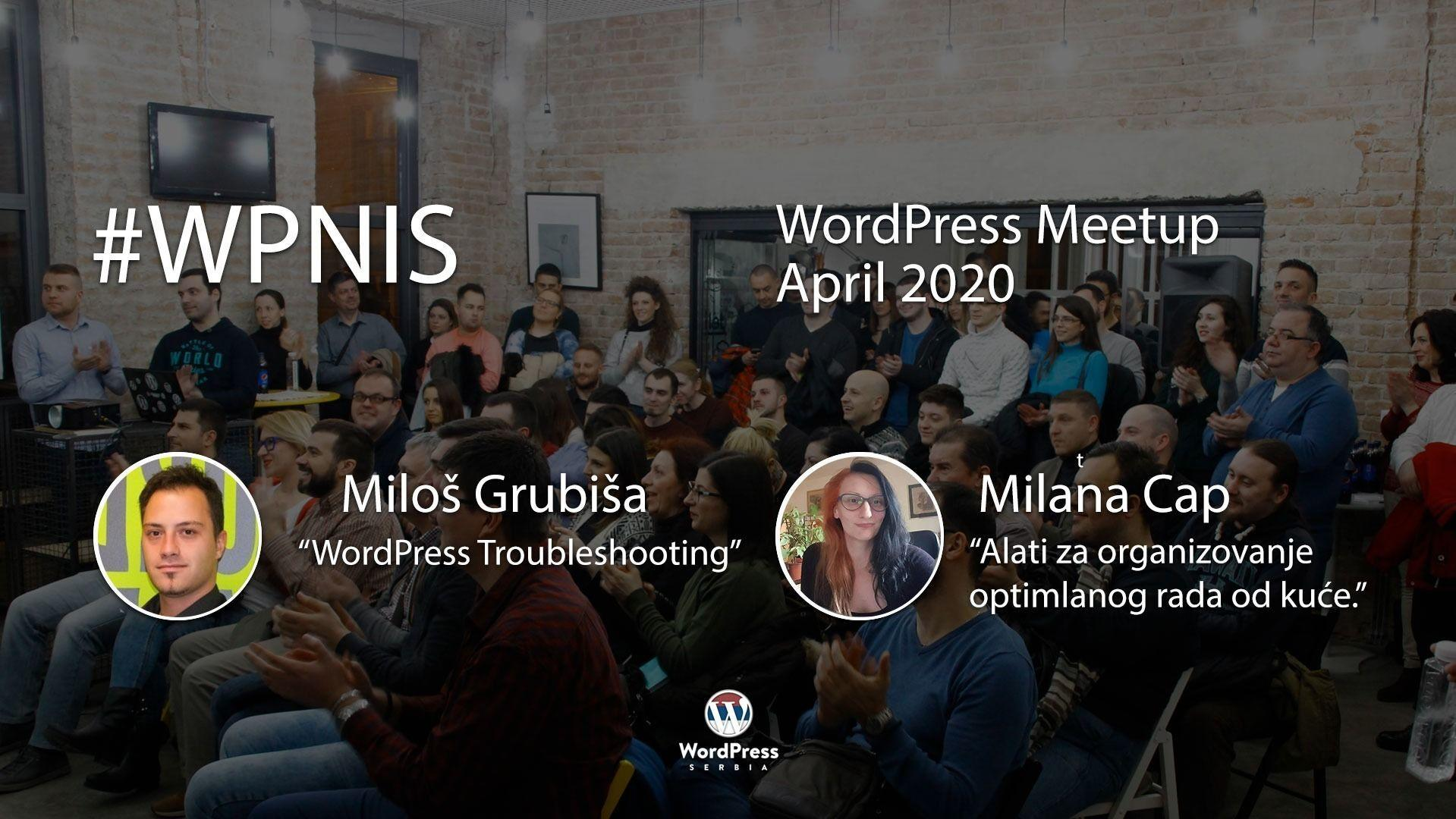 WordPress Web-meetup Niš – #WPNis