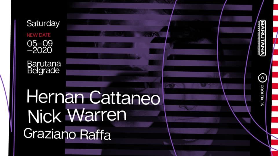 Hernan Cattaneo vs Nick Warren 23.12.2020. Barutana