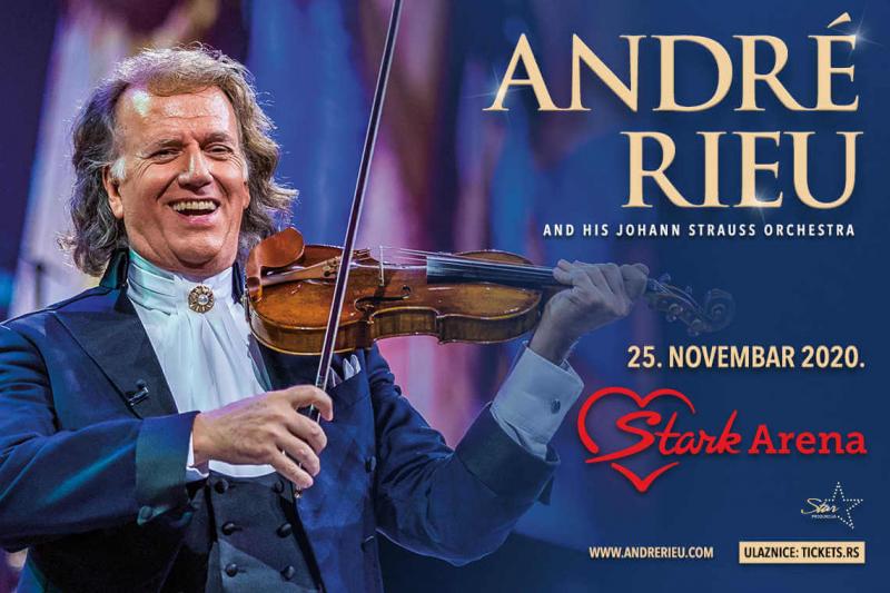 ANDRE RIEU 25.11.2020. Štark arena
