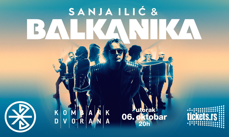 SANJA ILIC & BALKANIKA KONCERT 06.10.2020. Kombank dvorana