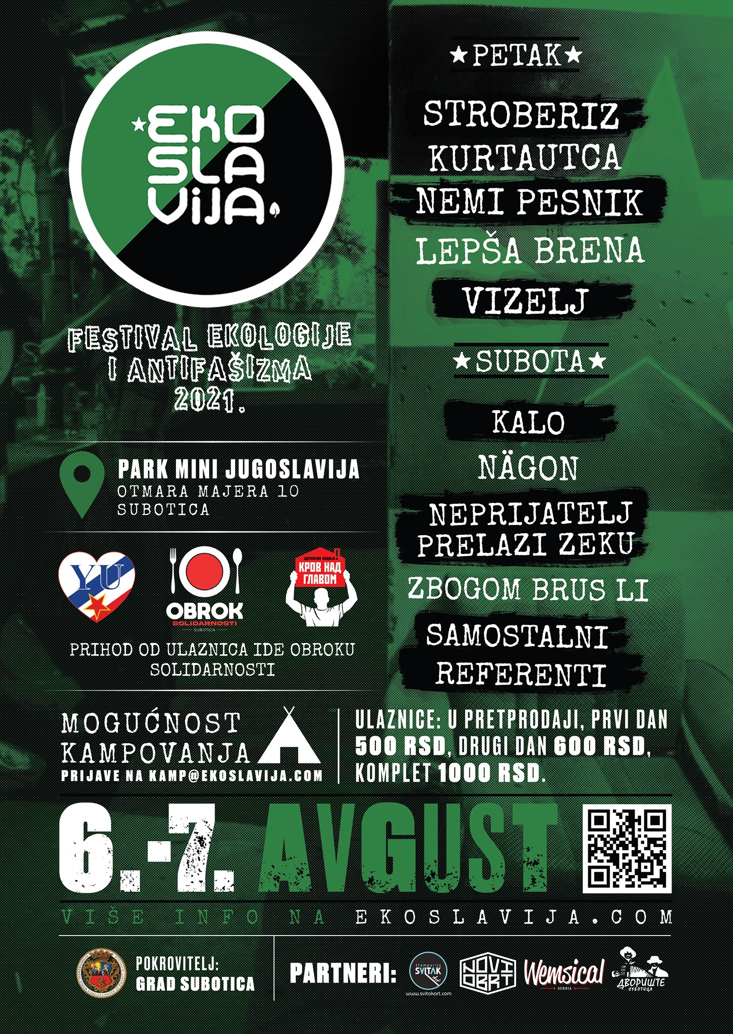 EKOSLAVIJA 06  – 07.08.2021. Subotica