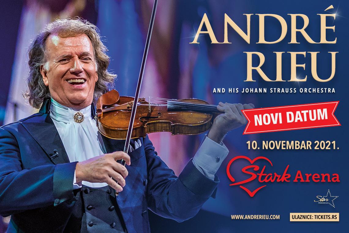 Andre Rieu 10.11.2021. Štark arena