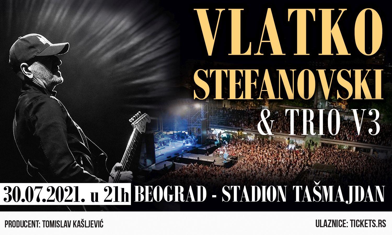 VLATKO STEFANOVSKI & V3 TRIO 30.07.2021. Tašmajdan